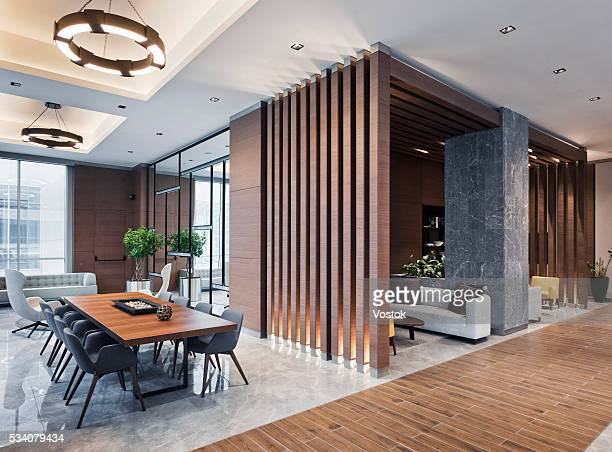 Lobby in new multifunctional Complex in Maslak District (Istanbul)