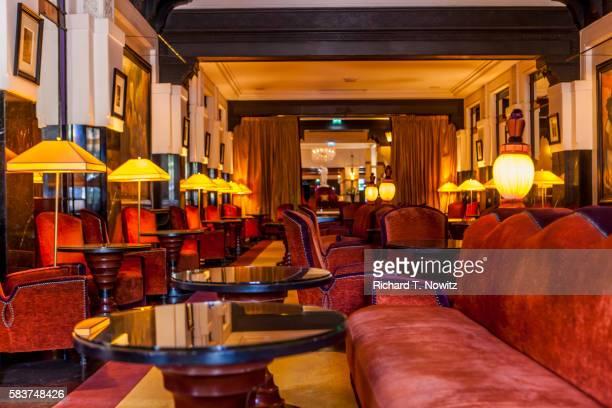 Lobby in the Mamounia Hotel