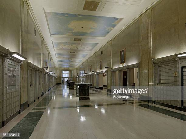 Lobby James T Foley US Post Office and Courthouse Albany New York