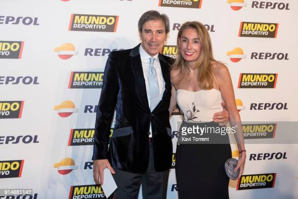 Lobo Carrasco attends the photocall of the 70th Mundo Deportivo Gala on February 5 2018 in Barcelona Spain