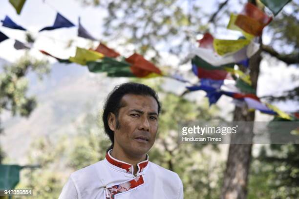 Lobsang Wangyal founder of Miss Tibet Pageant poses for a picture in McLeod Ganj on March 20 2018 in Dharamsala India From fake documentation to sham...