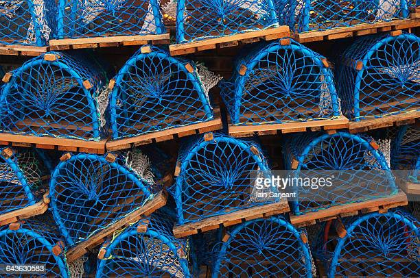 Lobster creels or pots