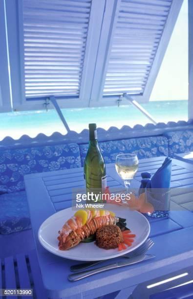 lobster dish - ダンモアタウン ストックフォトと画像