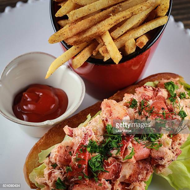 Lobster roll at One Twenty One Restaurant in North Salem NY Photo by Lisa Wiltse
