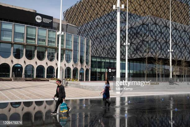 Local atmosphere due to Coronavirus lockdown is felt on a street by street level as streets remain virtually deserted in Centenary Square outside the...