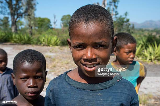 Local boys near Fort Dauphin a town on the southern coast of Madagascar