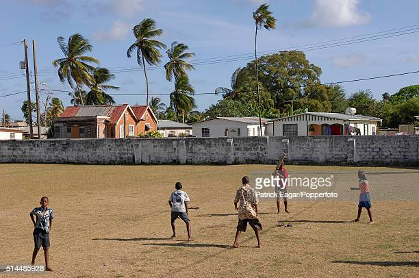Local boys practicing at the Empire Cricket Club Bank Hall Barbados 27th April 2007 Former members of the club include players such as Sir Frank...