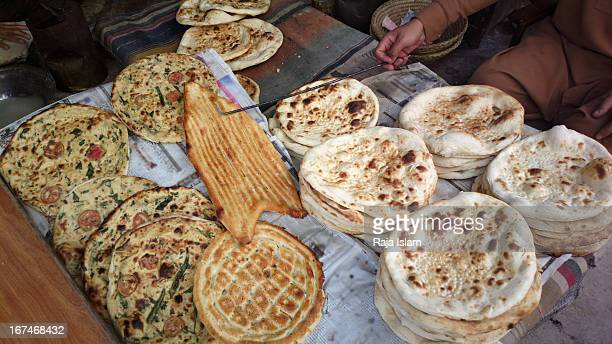 local bread from peshawar - peshawar stock pictures, royalty-free photos & images