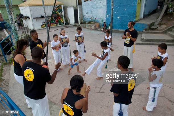 Local Capoeira group practicing at the top of Vidigal Avrao Since pacification in 2011 Vidigal has slowly become known as what some call a 'model...