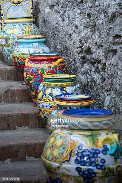 Local ceramic model, Italy
