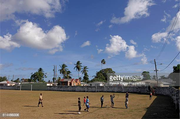 Local children playing at the Empire Cricket Club Bank Hall Barbados 27th April 2007 Former members of the club include players such as Sir Frank...