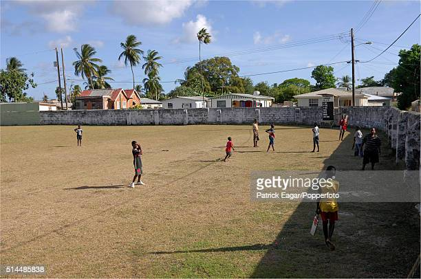 Local children practicing at the Empire Cricket Club Bank Hall Barbados 27th April 2007 Former members of the club include players such as Sir Frank...