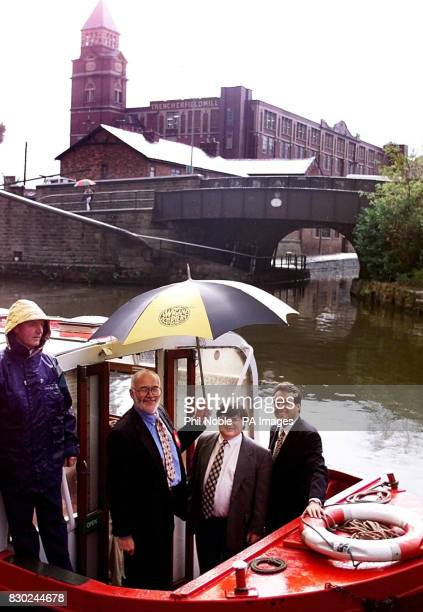 Local councillor 56yearold Neil Turner outside the Museum of Memories on the LeedsLiverpool canal where he was unveiled by the Labour Party as their...