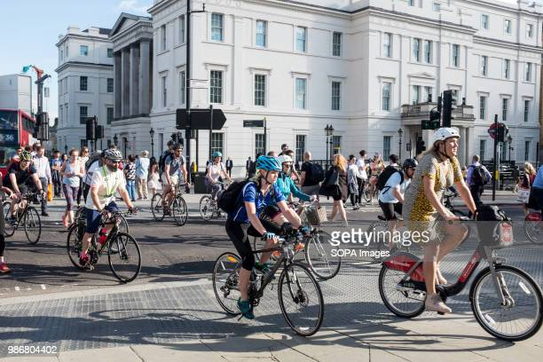 Local cyclists in London London is the Capital city of England and the United Kingdom it is located in the south east of the country in 2017 it is...