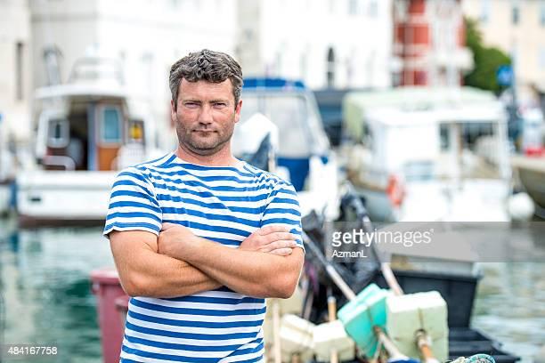 Local Fisherman Portrait