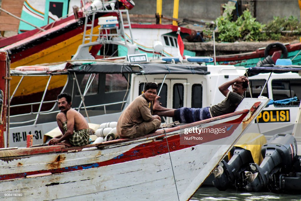 Daily Life Fisherman's in Aceh