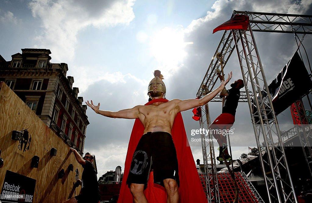 Reebok Spartan Race Pop-up Event : News Photo