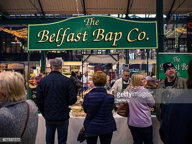 Local food on sale,Blefast,Northern Ireland