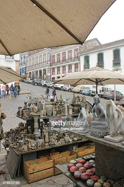 Local Handcraft of Ouro Preto. Ouro Preto is a city in the state of Minas Gerais, Brazil, a former colonial mining town located in the Serra do...