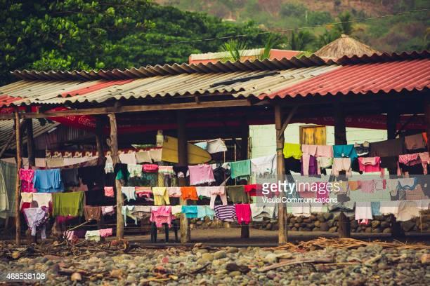 Lokale Wohnen im El Zonte beach in El Salvador.