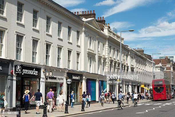 local landmarks - kensington and chelsea stock pictures, royalty-free photos & images