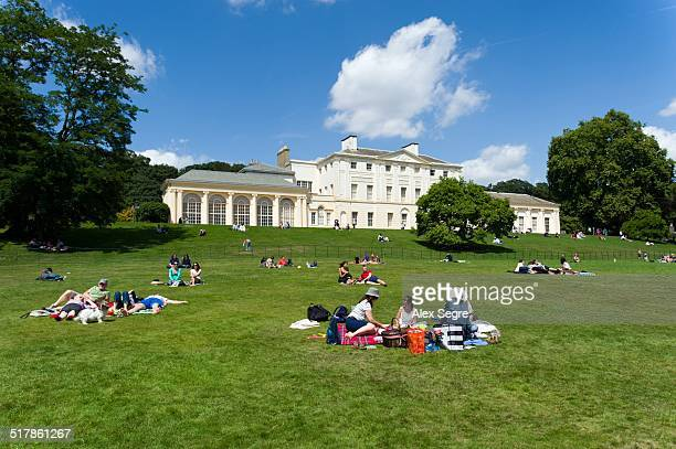 local landmarks - kenwood house stock pictures, royalty-free photos & images