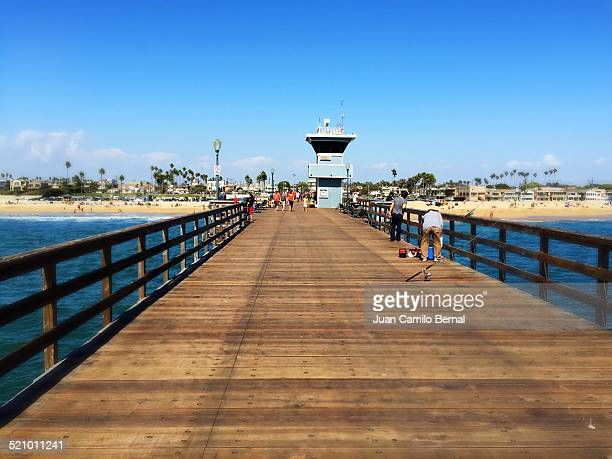 local landmarks - seal beach stock pictures, royalty-free photos & images