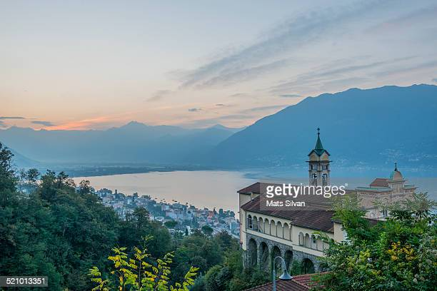 local landmarks - locarno stock photos and pictures