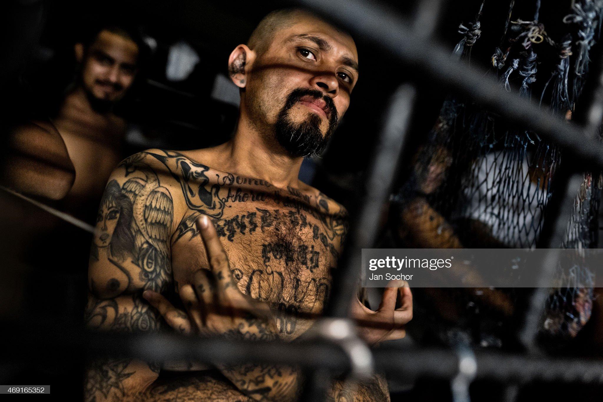Overcrowded Prisons In El Salvador - Mara Salvatrucha Gang : Fotografía de noticias