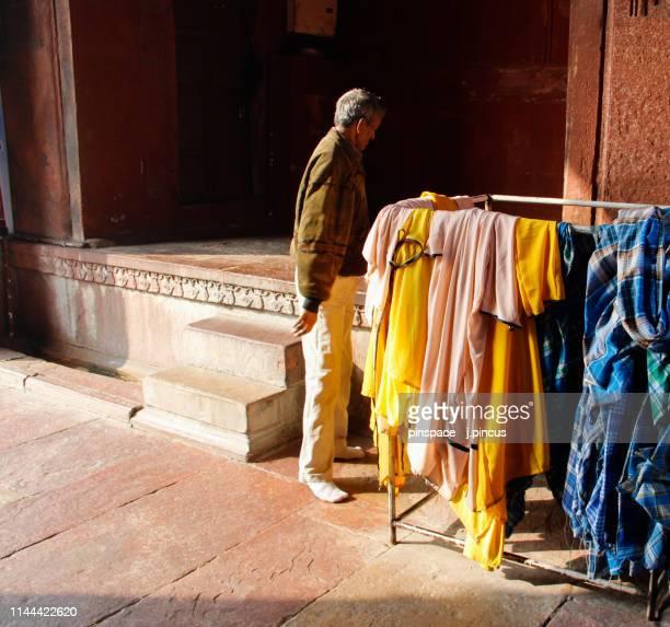 Local Man at the Jama Masjid Mosque, Delhi