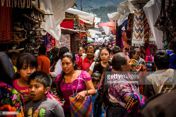 local market in guatemala. - guatemala stock pictures, royalty-free photos & images