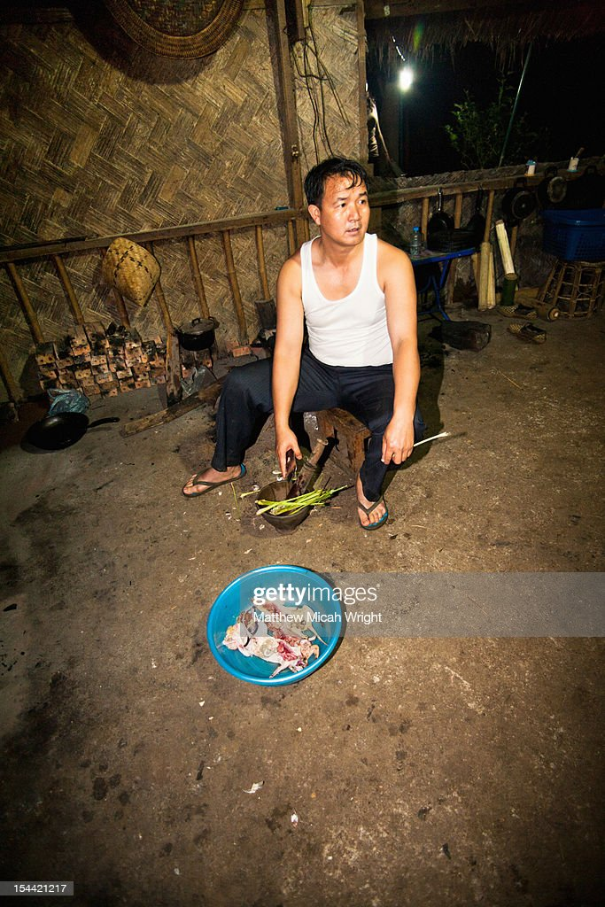 A local mean of rats and chicken. : Stock Photo