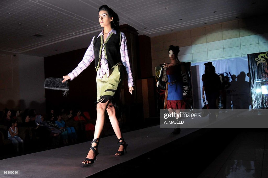 Local Models Present Creations By Students Of Iqra University During News Photo Getty Images
