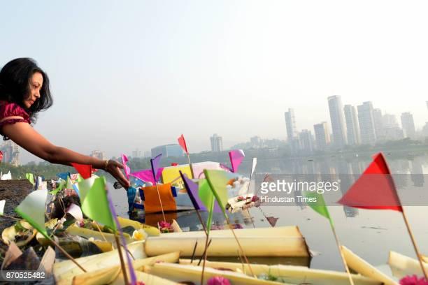 Local Oriya community under the flagship of Bombay Oriya Women's Association marks its annual festival Boita Bandana on Kartik Purnima while sailing...