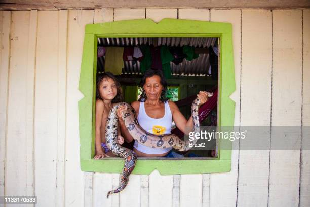 Local people in the Amazon