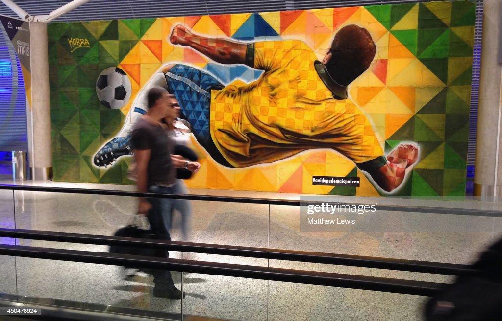 Alternative Views - 2014 FIFA World Cup : News Photo