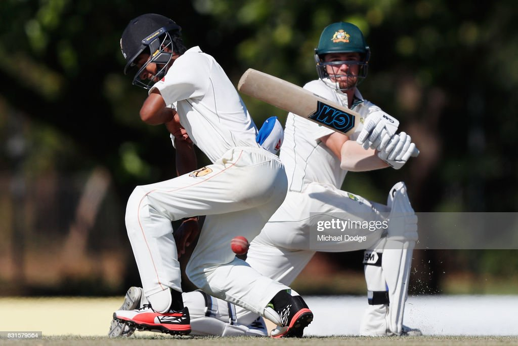 Australian Cricket Three Day Match: Day 2