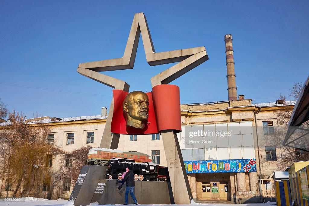 Soviet Monuments Across Ukraine : News Photo