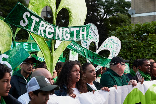 GBR: A Silent March Marks The 2nd Anniversary Of The Grenfell Fire