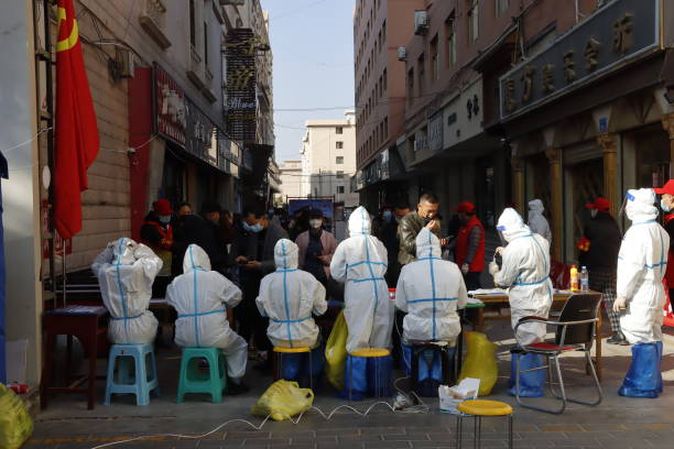 CHN: Nucleic Acid Testing In Zhangye