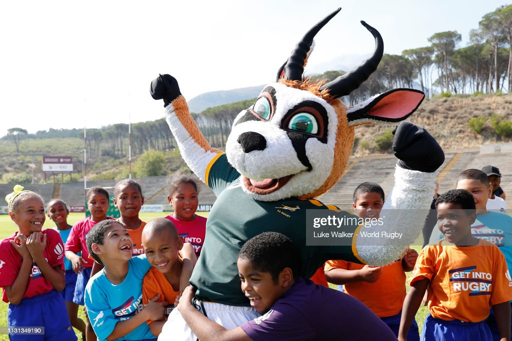 ZAF: Rugby World Cup 2019 Trophy Tour - South Africa: Day Two