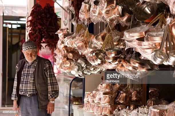 Local shop owner, Turkey