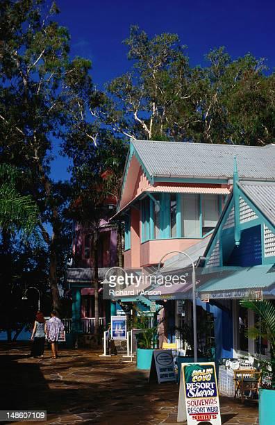 Local shops in Palm Cove.