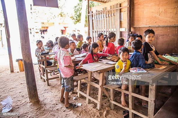 Local Students in Cambodia