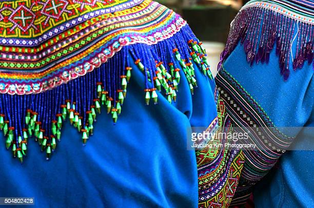 Local style of cloth in Sapa
