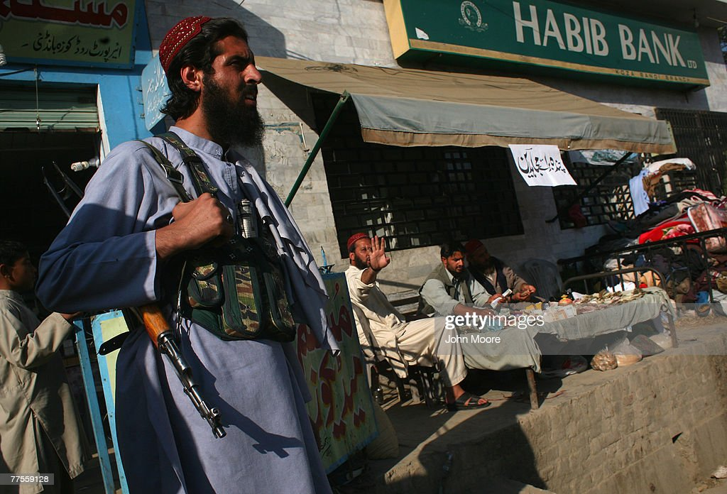 Taliban And Pakistani Forces Standoff In Swat Valley : News Photo