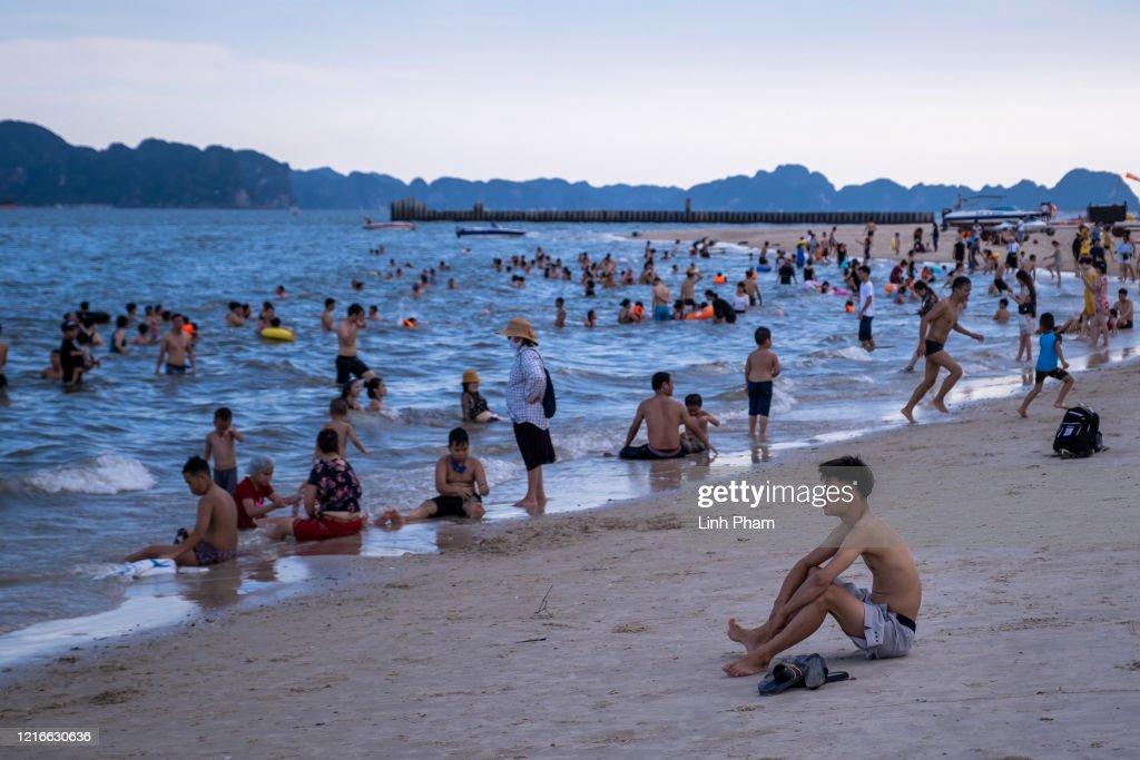 Vietnam Slowly Recovers From Coronavirus Outbreak : News Photo