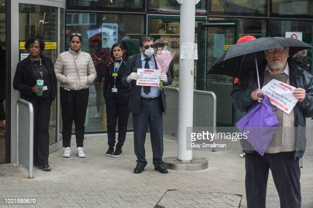 Local Trade Unionists and staff at the Whittington Hospital mark International Workers Memorial Day by holding a minutes silence and demanding better...