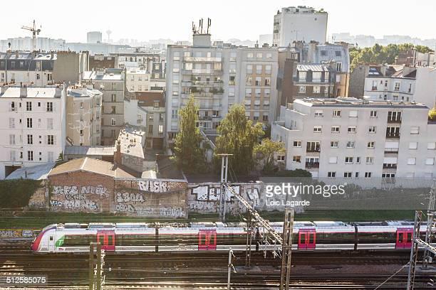 TER local train in paris july 2013