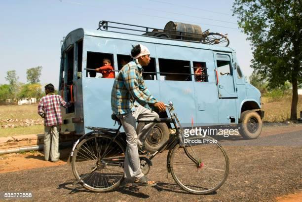 Local transport in Uttar Pradesh, India.